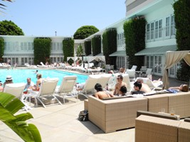 The Pool at the Beverly Hills Hilton