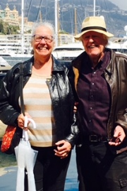 Gary and Jeanne in Monte Carlo, Casino in Background